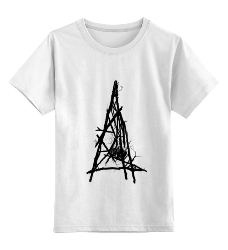Детская футболка классическая унисекс Printio True detective's branches gray simulated pearl flower branches brooch
