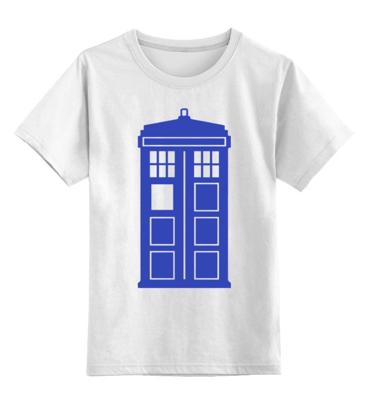 Детская футболка классическая унисекс Printio Tardis (тардис) футболка классическая printio tardis тардис