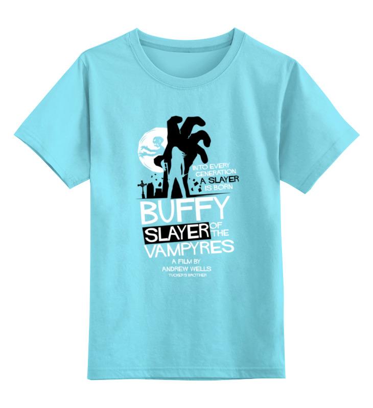 Детская футболка классическая унисекс Printio Баффи (buffy) майка классическая printio slayer season in the abyss 1990