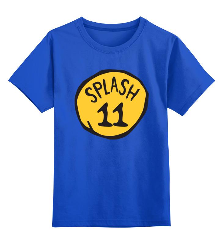 Детская футболка классическая унисекс Printio Клей томпсон