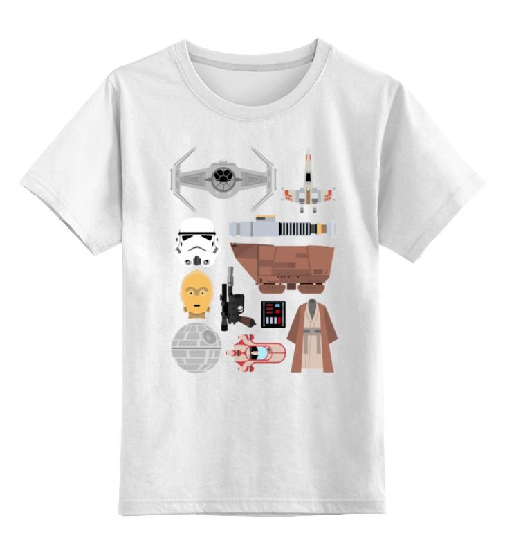 Детская футболка классическая унисекс Printio Star wars детская косметика star wars жидкое мыло 300 мл