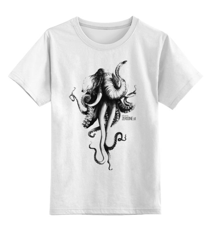 Детская футболка классическая унисекс Printio Октослон acc778c6c