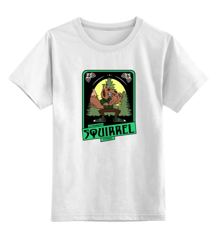 Printio Squirrel детская футболка классическая унисекс printio squirrel