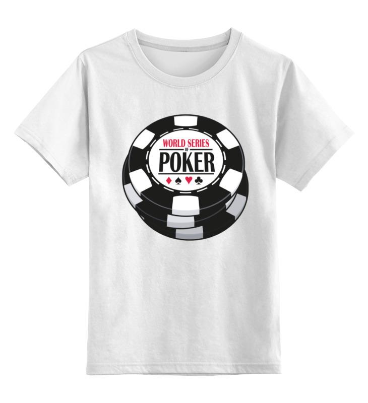 Детская футболка классическая унисекс Printio Покер (poker) magic poker props traditional dolls brand