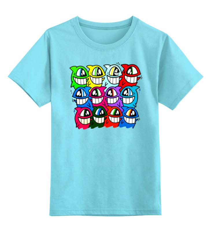 Детская футболка классическая унисекс Printio Весёлый арт плотникова т такие вкусные салаты…