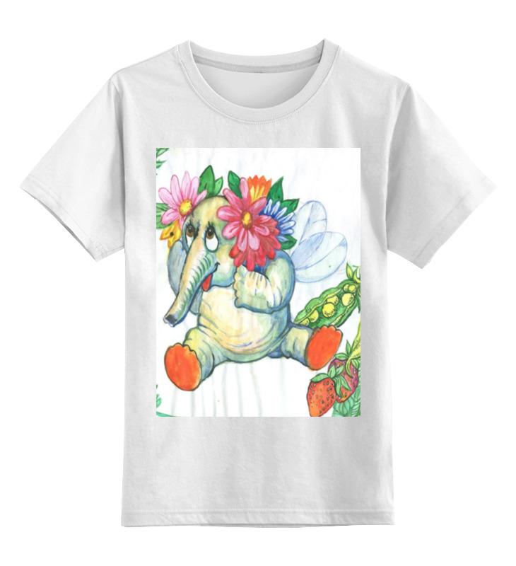 Детская футболка классическая унисекс Printio Слоник детская футболка классическая унисекс printio злая пчелка