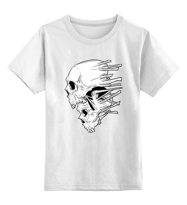 Детская футболка классическая унисекс Printio Skull футболка классическая printio готика