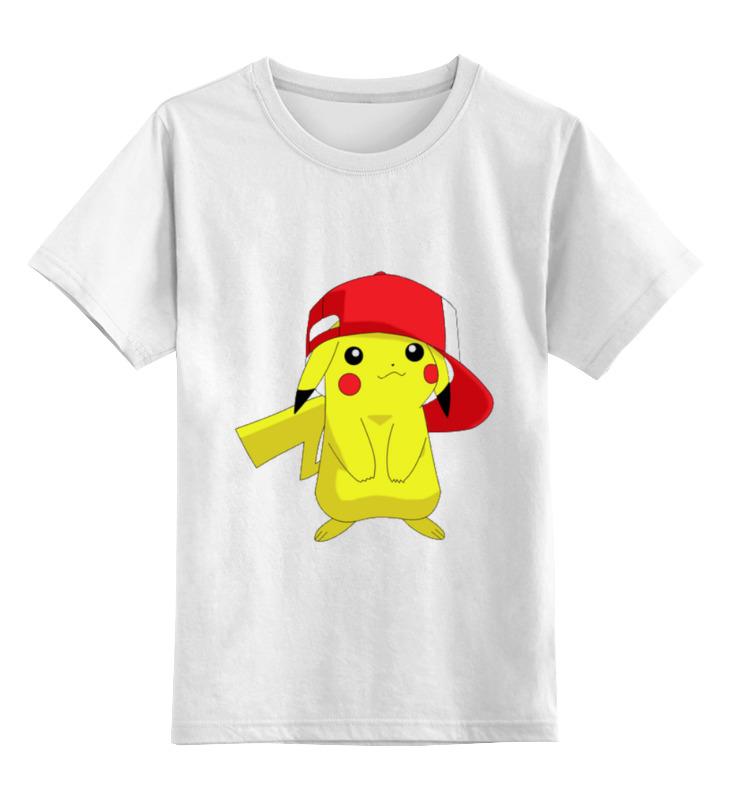 Детская футболка классическая унисекс Printio Pica! детская футболка классическая унисекс printio красота смертельна