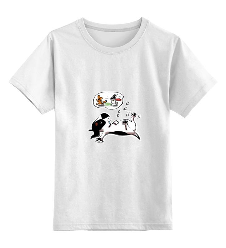 Детская футболка классическая унисекс Printio Chilly the hunter детская футболка классическая унисекс printio dota 2 bounty hunter