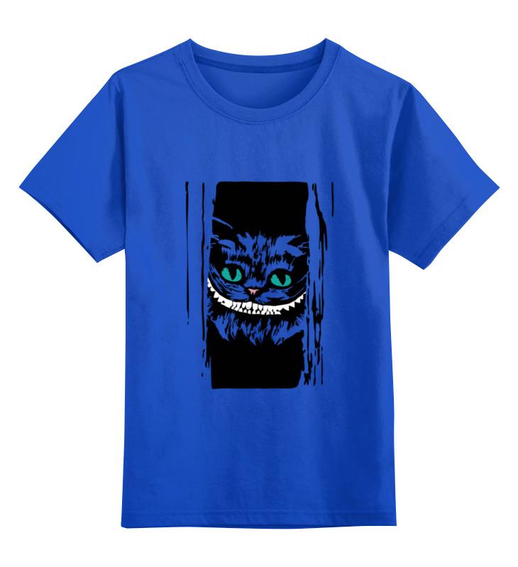 Детская футболка классическая унисекс Printio Чеширский кот (алиса в стране чудес) футболка классическая printio кот базилио и лиса алиса