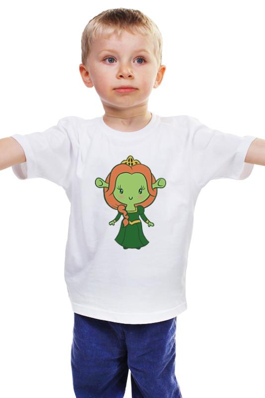 Детская футболка классическая унисекс Printio Принцесса фиона
