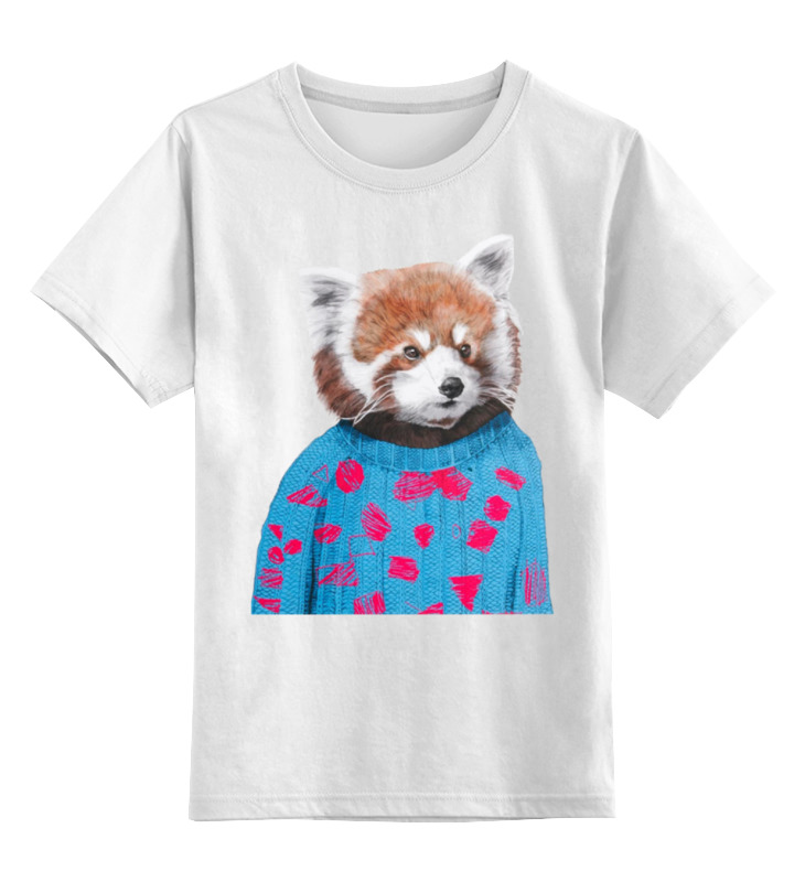Детская футболка классическая унисекс Printio Красная панда детская футболка классическая унисекс printio король панда