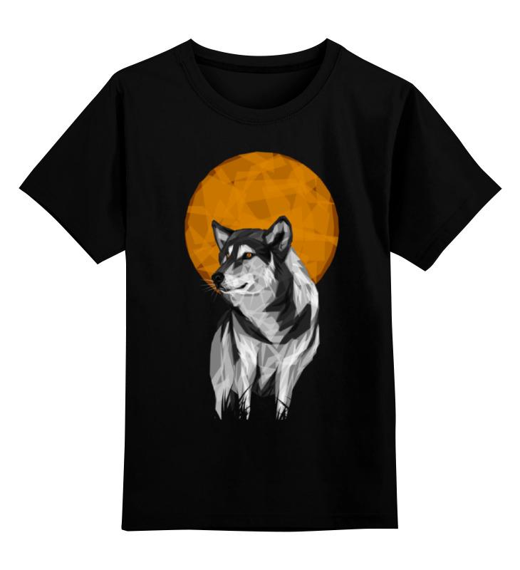 Детская футболка классическая унисекс Printio Геометрический волк детская футболка классическая унисекс printio мачете