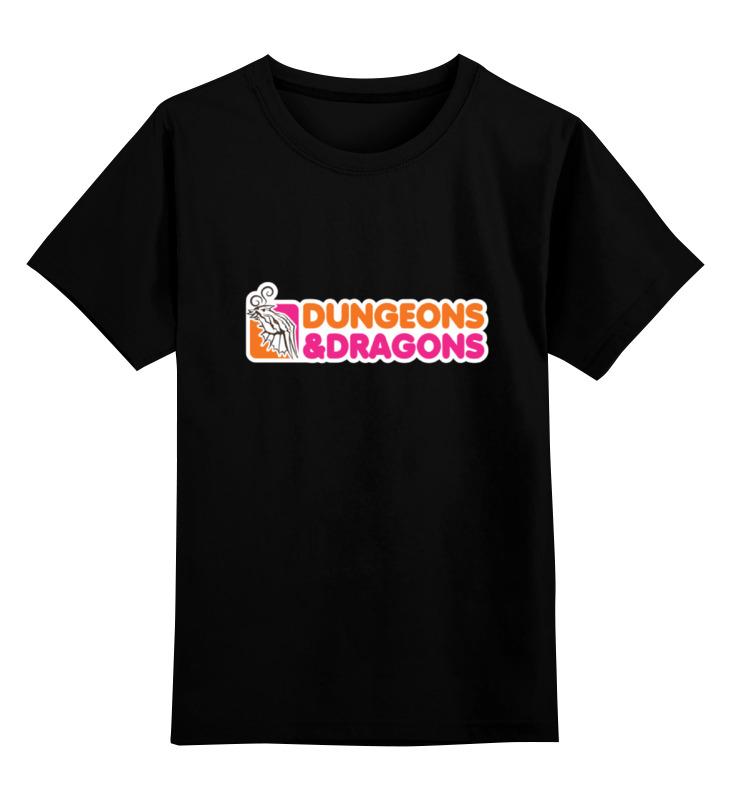 Детская футболка классическая унисекс Printio Dungeons & dragons dragons фигурка toothless сидящий