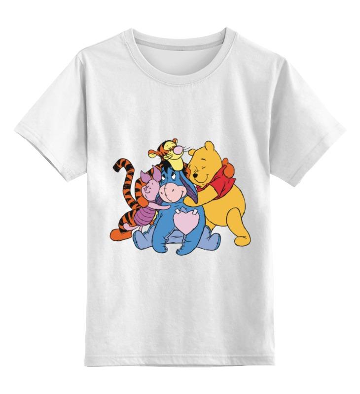 Детская футболка классическая унисекс Printio Винни пух домино умка винни пух