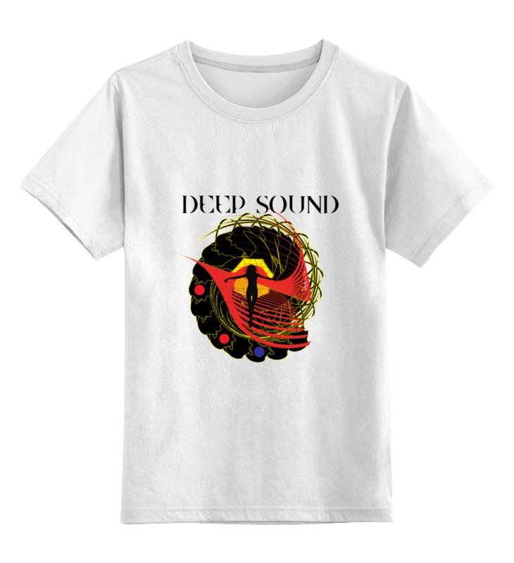 Детская футболка классическая унисекс Printio deep sound ultra loud bicycle air horn truck siren sound 120db