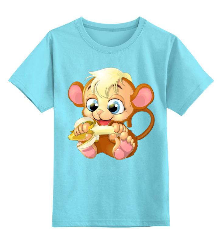 Детская футболка классическая унисекс Printio Обезьянка fancy сумка рюкзак детская обезьянка