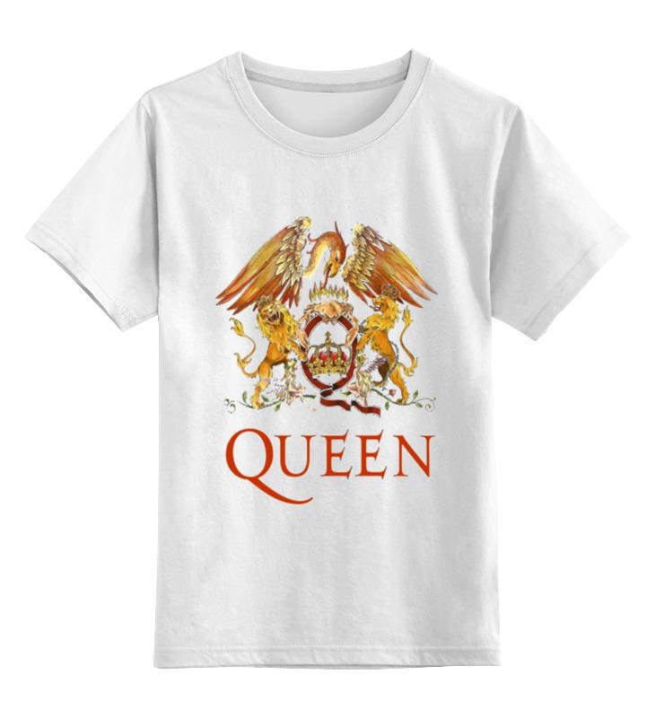 Детская футболка классическая унисекс Printio Queen детская футболка классическая унисекс printio fitness queen