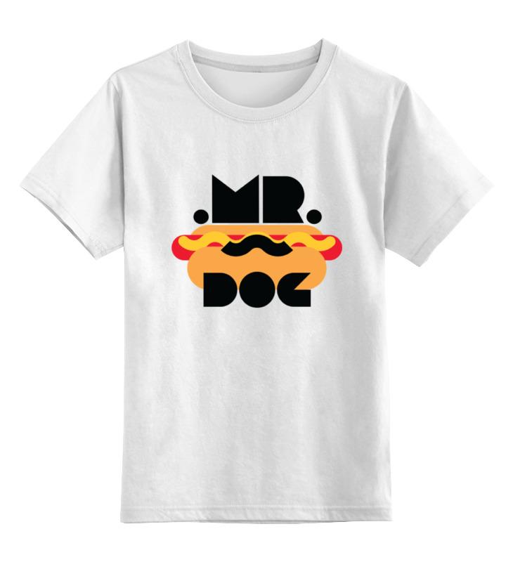 Детская футболка классическая унисекс Printio Мистер хот-дог футболка классическая printio gta 5 dog