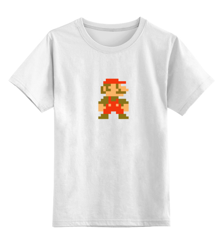 Детская футболка классическая унисекс Printio Супер марио original colors детская футболка классическая унисекс printio супер марио