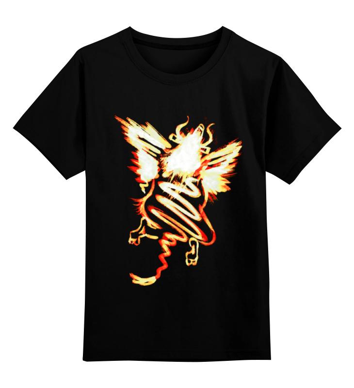 Детская футболка классическая унисекс Printio Полет шмеля (оранж) плакат a3 29 7x42 printio полет шмеля оранж