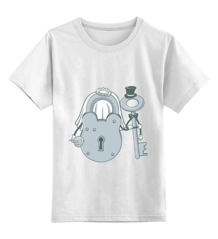 Детская футболка классическая унисекс Printio Жених и невеста футболка стрэйч printio невеста и жених