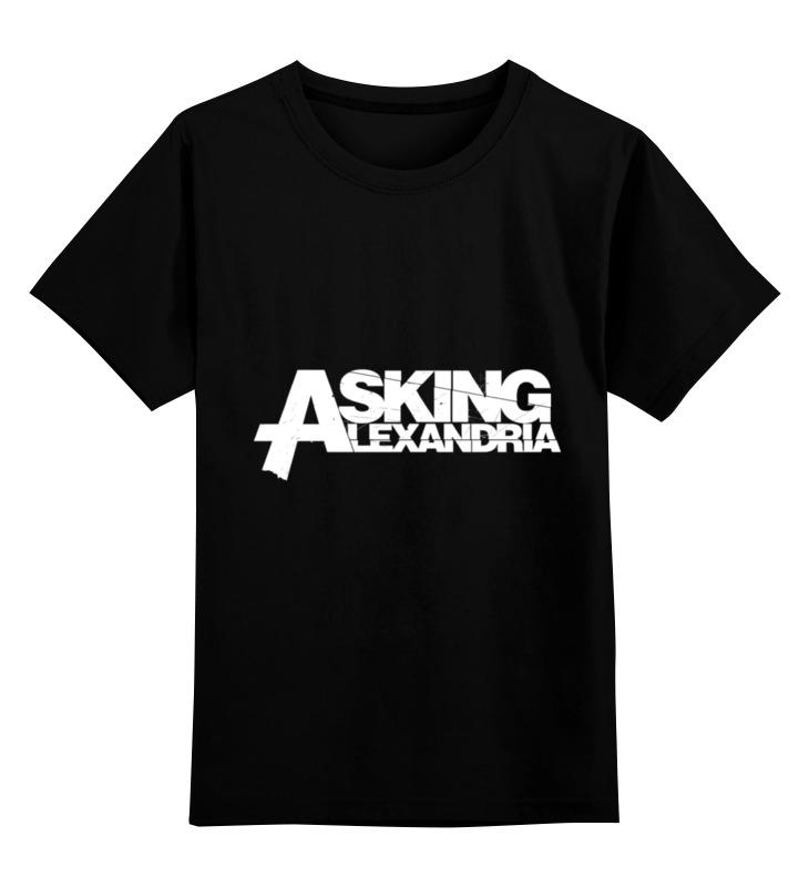 Детская футболка классическая унисекс Printio Asking alexandria футболка asking alexandria
