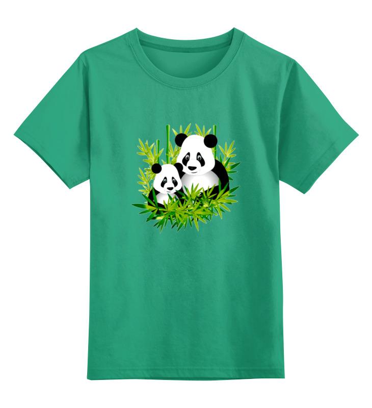 Детская футболка классическая унисекс Printio Панды майка print bar панды