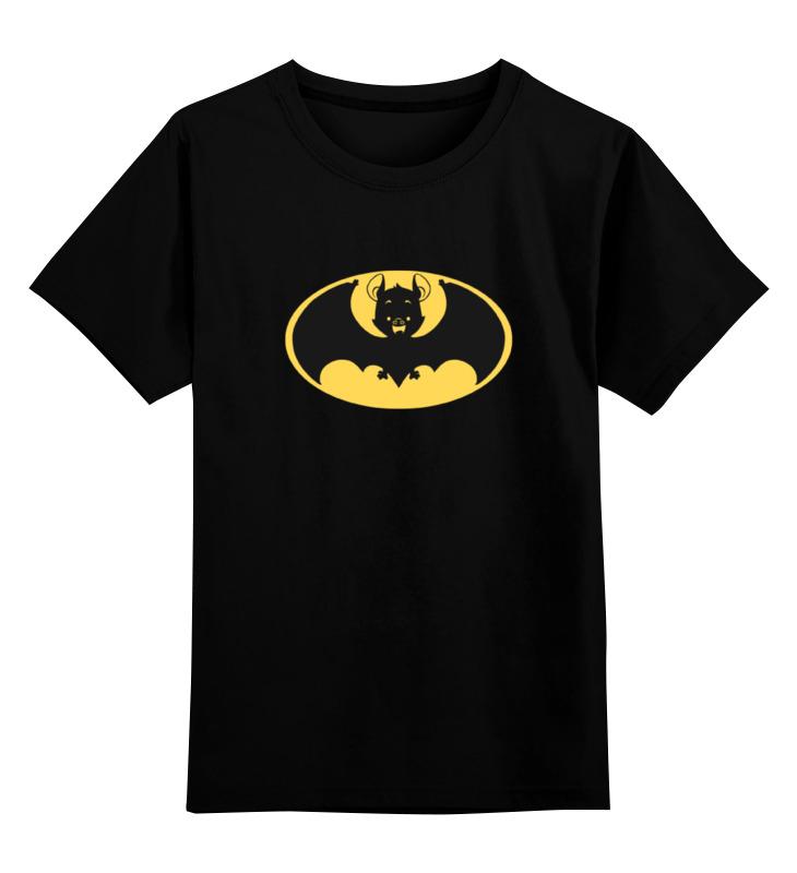 Детская футболка классическая унисекс Printio Летучая мышь (бэтмен) футболка классическая printio летучая мышь