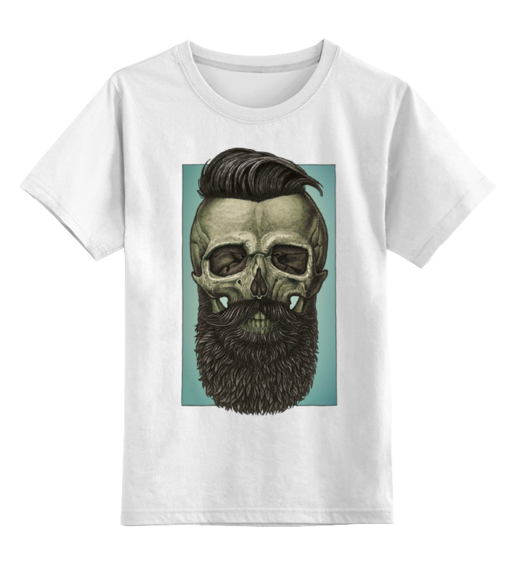 Детская футболка классическая унисекс Printio Skull art детская футболка классическая унисекс printio козел