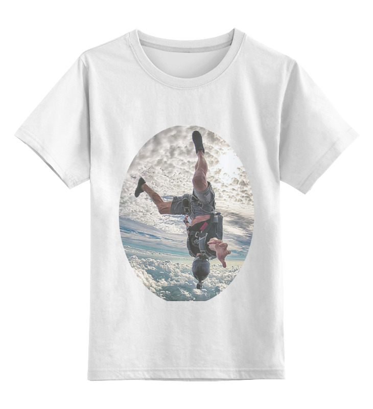 Детская футболка классическая унисекс Printio Touch the sky the sky is falling – understanding