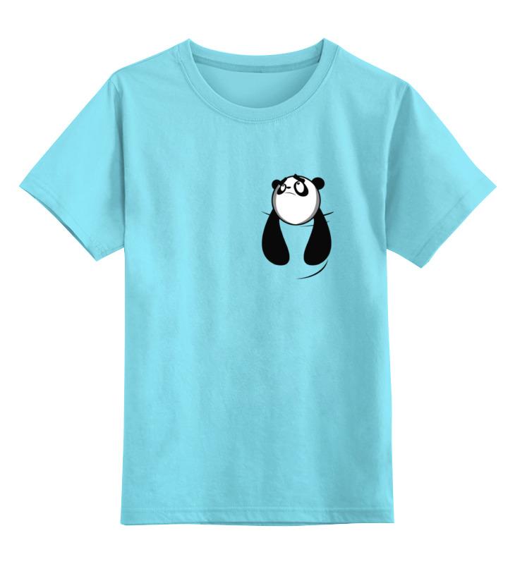 Детская футболка классическая унисекс Printio Панда в кармане детская футболка классическая унисекс printio король панда