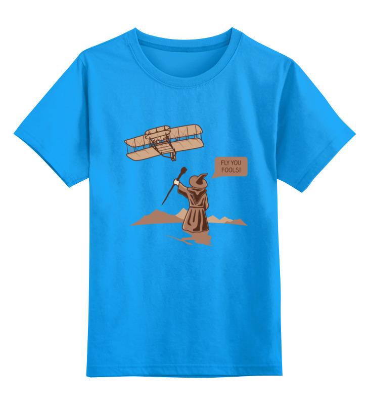 Детская футболка классическая унисекс Printio Гендальф (властелин колец) детская футболка классическая унисекс printio властелин колец