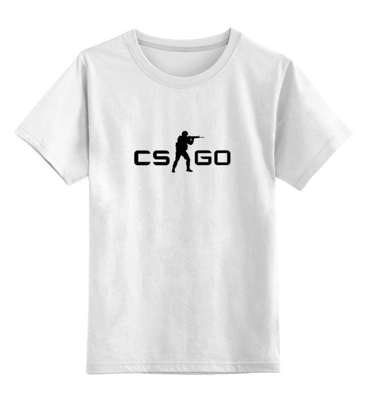 Детская футболка классическая унисекс Printio Cs go худи print bar cs go asiimov black