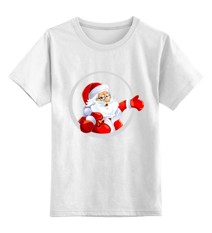 Детская футболка классическая унисекс Printio Дед мороз фигурки sweet home ёлочное украшение дед мороз
