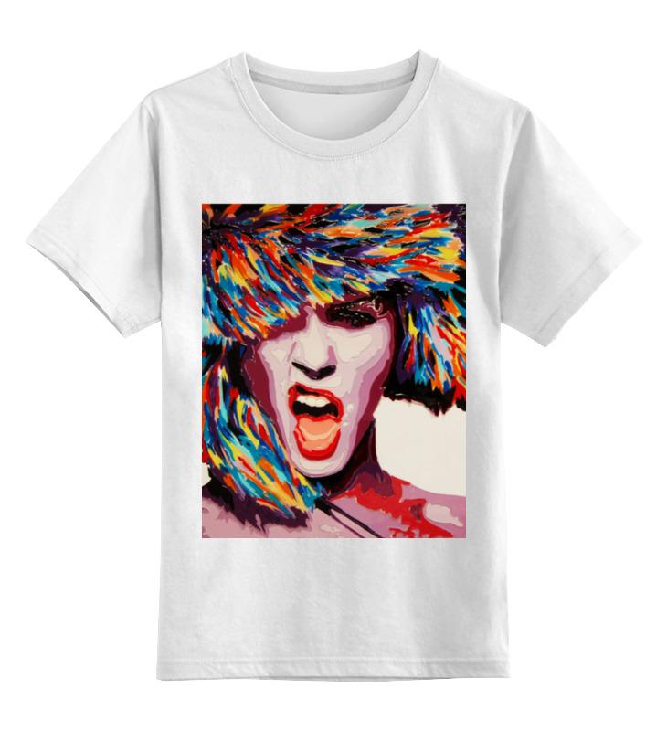 Детская футболка классическая унисекс Printio Winter bang