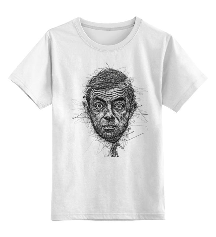Детская футболка классическая унисекс Printio Rowan atkinson atkinson kate god in ruins a atkinson kate
