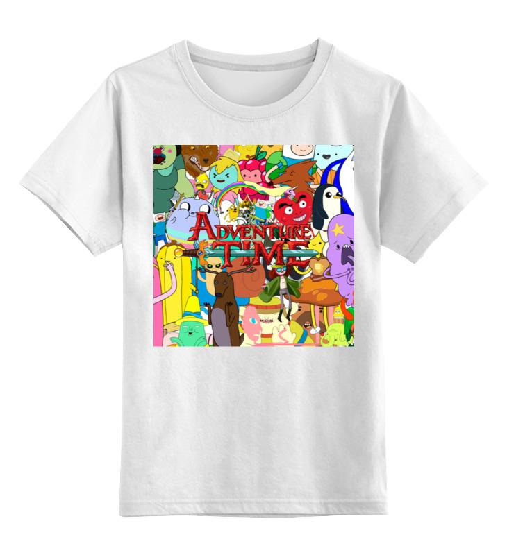 Детская футболка классическая унисекс Printio Adventure time футболка классическая printio adventure time x doctor who