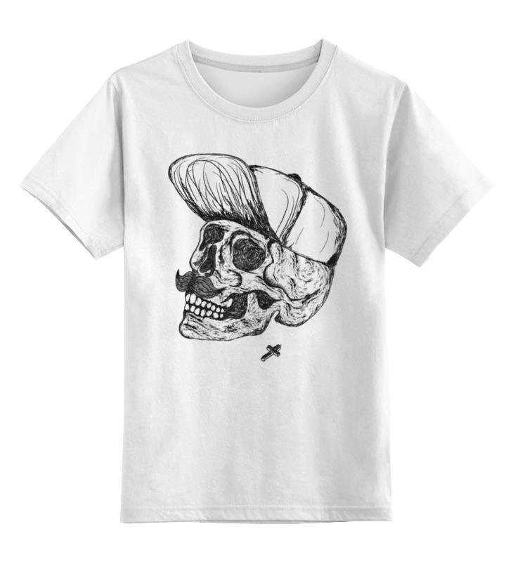 Детская футболка классическая унисекс Printio Dead hipster майка классическая printio dead hipster