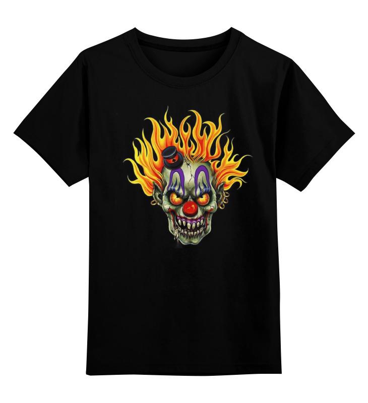 Детская футболка классическая унисекс Printio Evil clown футболка evil dead
