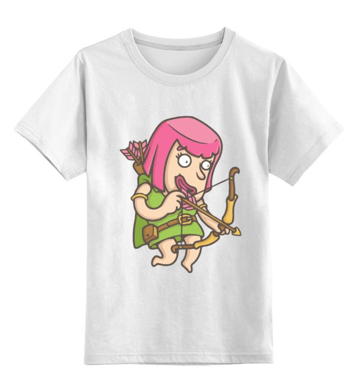 Детская футболка классическая унисекс Printio Лучница (clash of сlans) детская футболка классическая унисекс printio clash royale