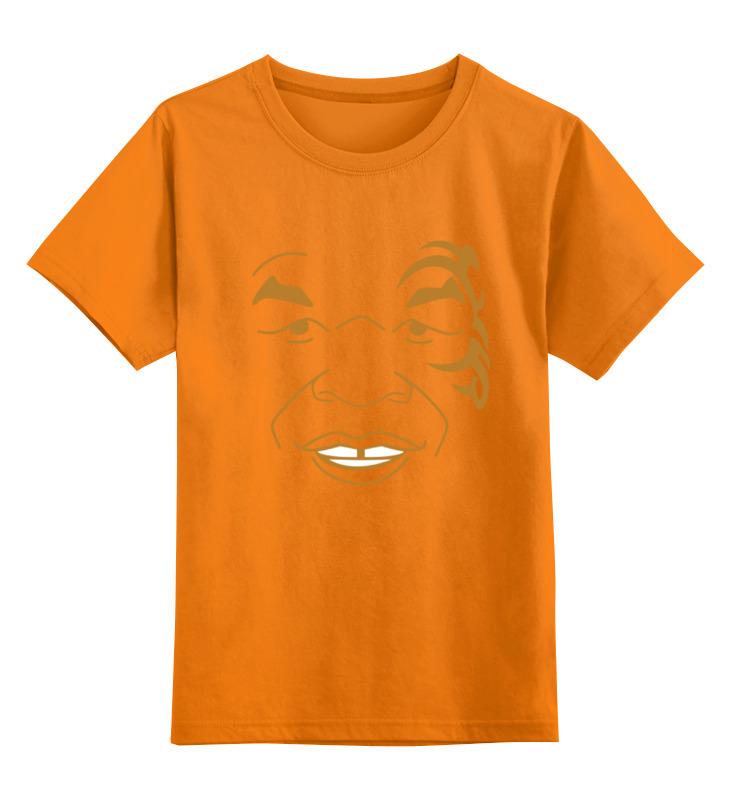 Детская футболка классическая унисекс Printio Майк тайсон (mike tyson) mike at wrykyn