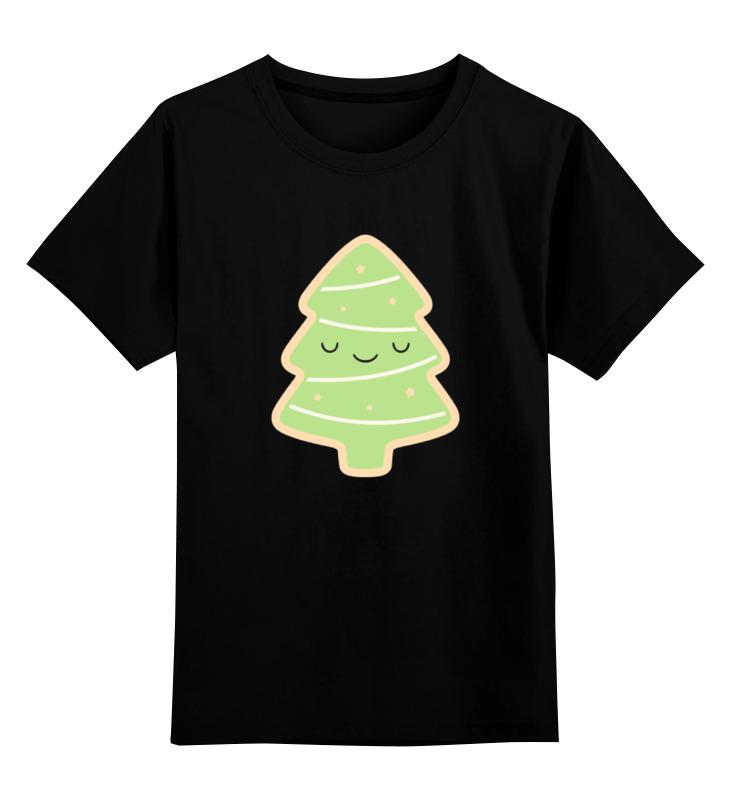 Детская футболка классическая унисекс Printio Ёлка (новый год) футболка классическая printio новый год 2018