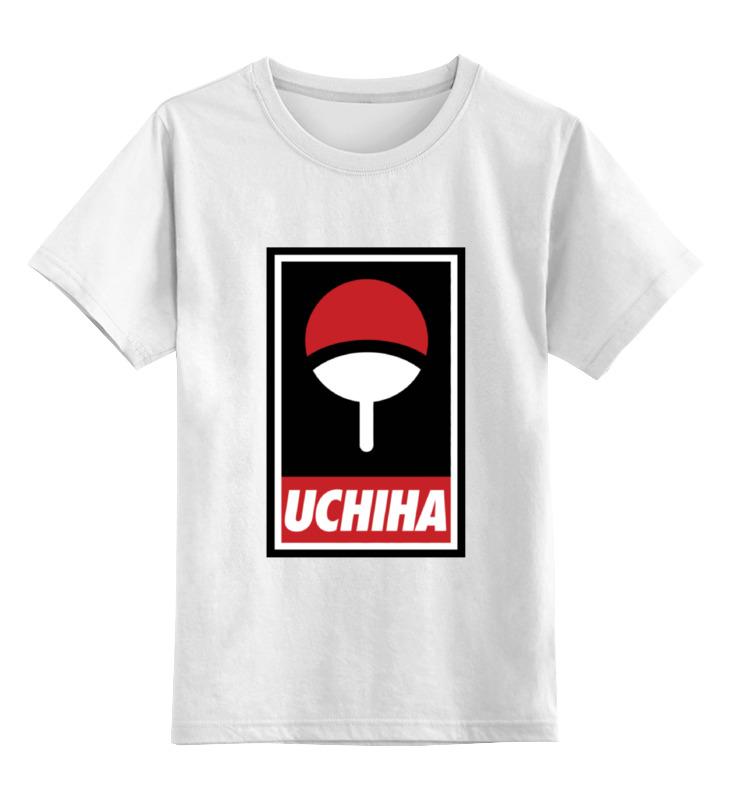 Детская футболка классическая унисекс Printio Клан учиха (наруто) футболка учиха