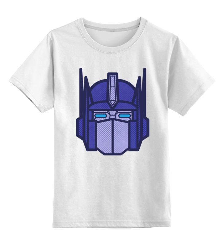 Детская футболка классическая унисекс Printio Оптимус прайм оптимус прайм игрушка в инете