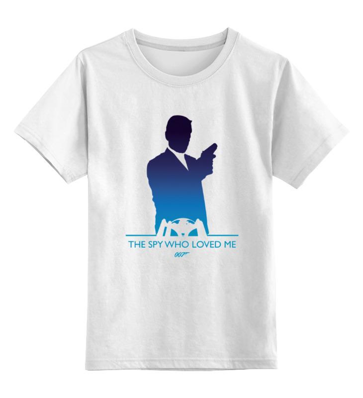 все цены на Детская футболка классическая унисекс Printio 007: шпион, который меня любил онлайн