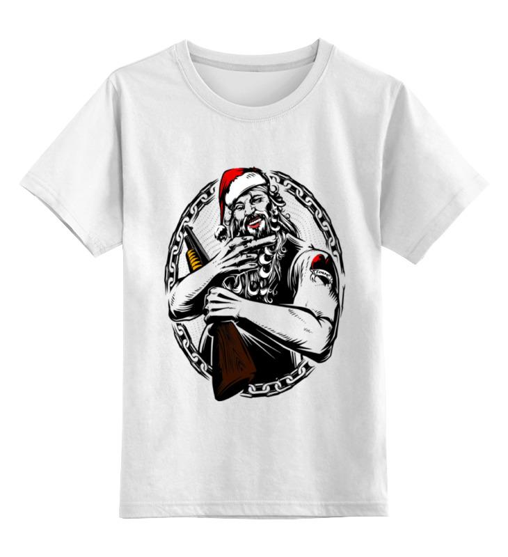 Детская футболка классическая унисекс Printio Дед мороз мягкие игрушки woody o time плюшевый дед мороз
