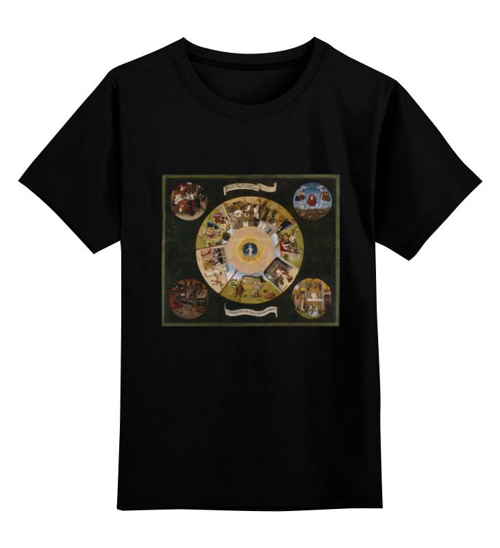 Детская футболка классическая унисекс Printio Семь смертных грехов майка классическая printio семь смертных грехов
