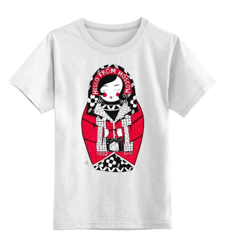 Детская футболка классическая унисекс Printio Матрешка московская детская футболка классическая унисекс printio матрешка