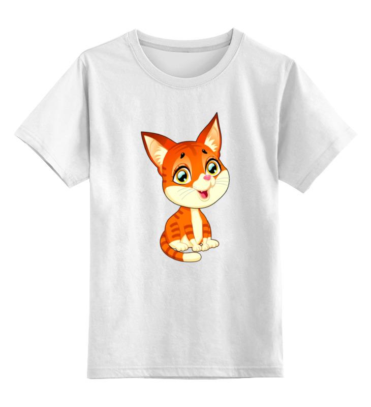Детская футболка классическая унисекс Printio Котёнок детская футболка классическая унисекс printio котёнок по имени гав